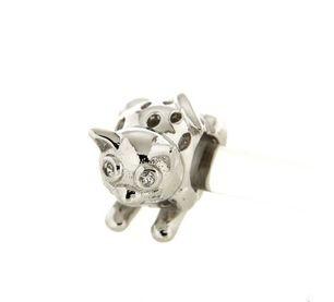Ciondolo in argento tit. 925m.