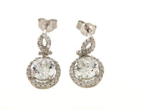 Earrings in silver tit. 925m.