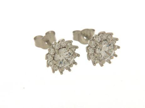 Orecchini in argento tit. 925m.