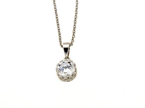 Collana in argento tit. 925m.