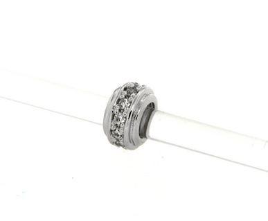 Pendant in silver tit. 925m.