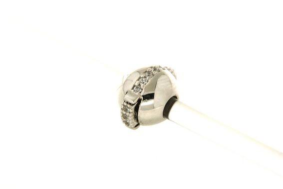 Fermo in argento tit. 925m. - CHA229