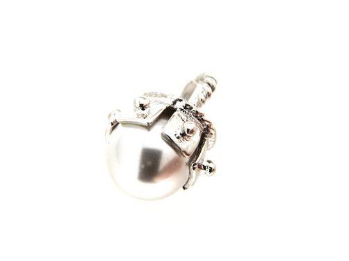 Pendant in silver tit. 925m. - CHA230