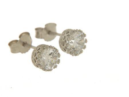 Orecchini in argento tit. 925m. - OR26RS