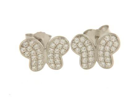 Earrings in silver tit. 925m.  - OR29RS