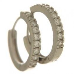Cerchi in argento tit. 925m.