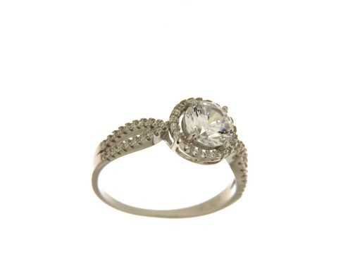Anello in argento tit. 925m. - AN16RK