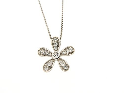 Collana in argento tit. 925m. - KL12RS
