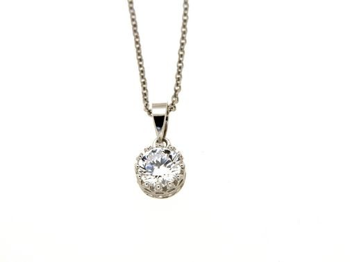 Collana in argento tit. 925m. - KL10RS