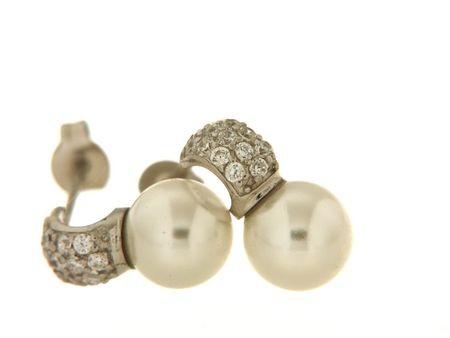 Earrings in silver tit. 925m. - O163R