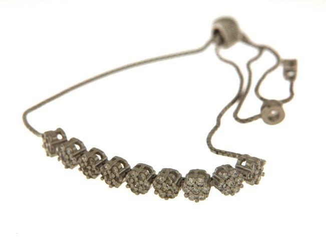 Bracciale in argento tit. 925m. - B87R