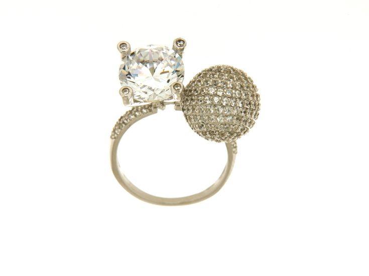 Anello in argento tit. 925m. - A154R
