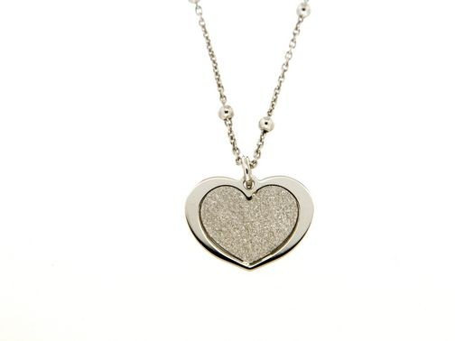 Collana in argento tit. 925m. - K86R