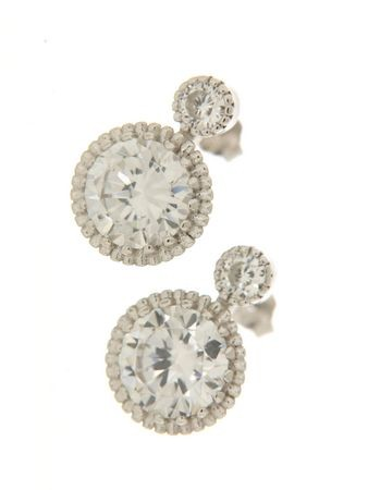 Earrings in silver tit. 925m. - OR1RK