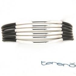 Bracelet in silver tit. 925.