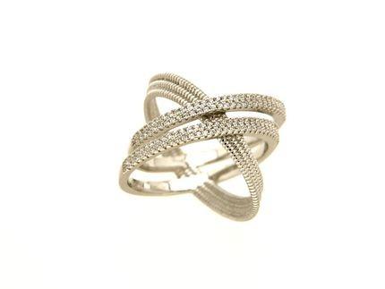 Anello in argento tit. 925m. - A174R