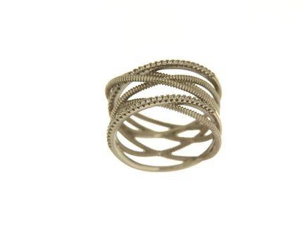Anello in argento tit. 925m. - A175R