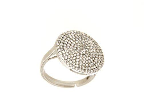 Anello in argento tit. 925m. - A185R
