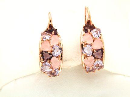 Earrings in silevr tit. 925m. - O176P1