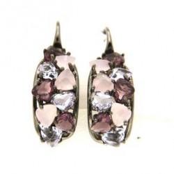 Earrings in silevr tit. 925m.