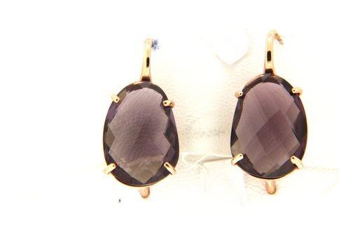 Earrings in silver tit. 925m. - O174P1