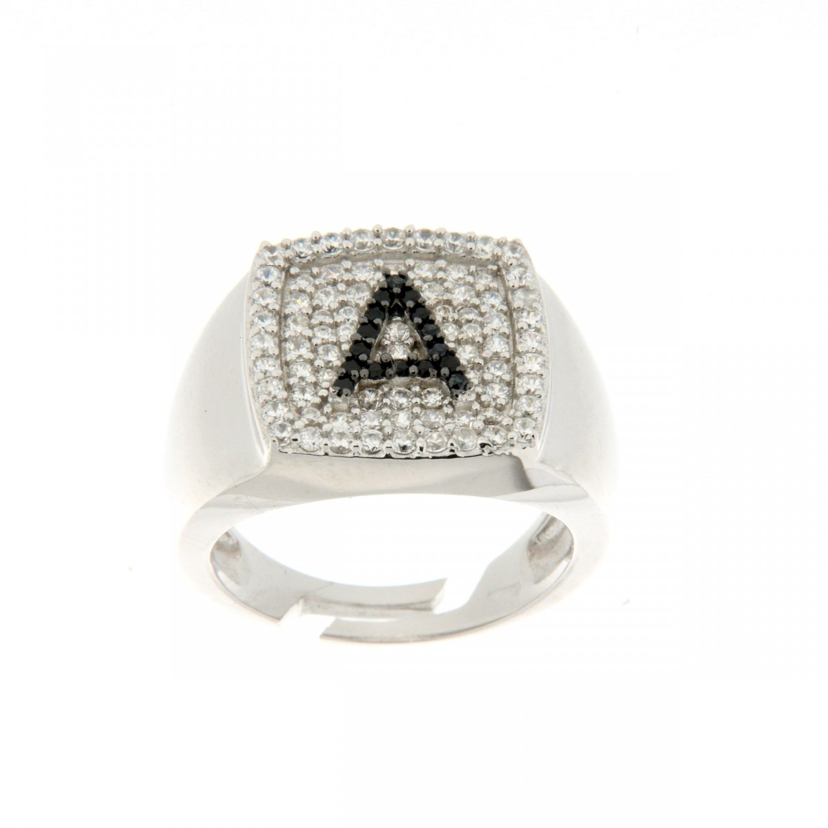 Anello in argento tit. 925m. - A61RA