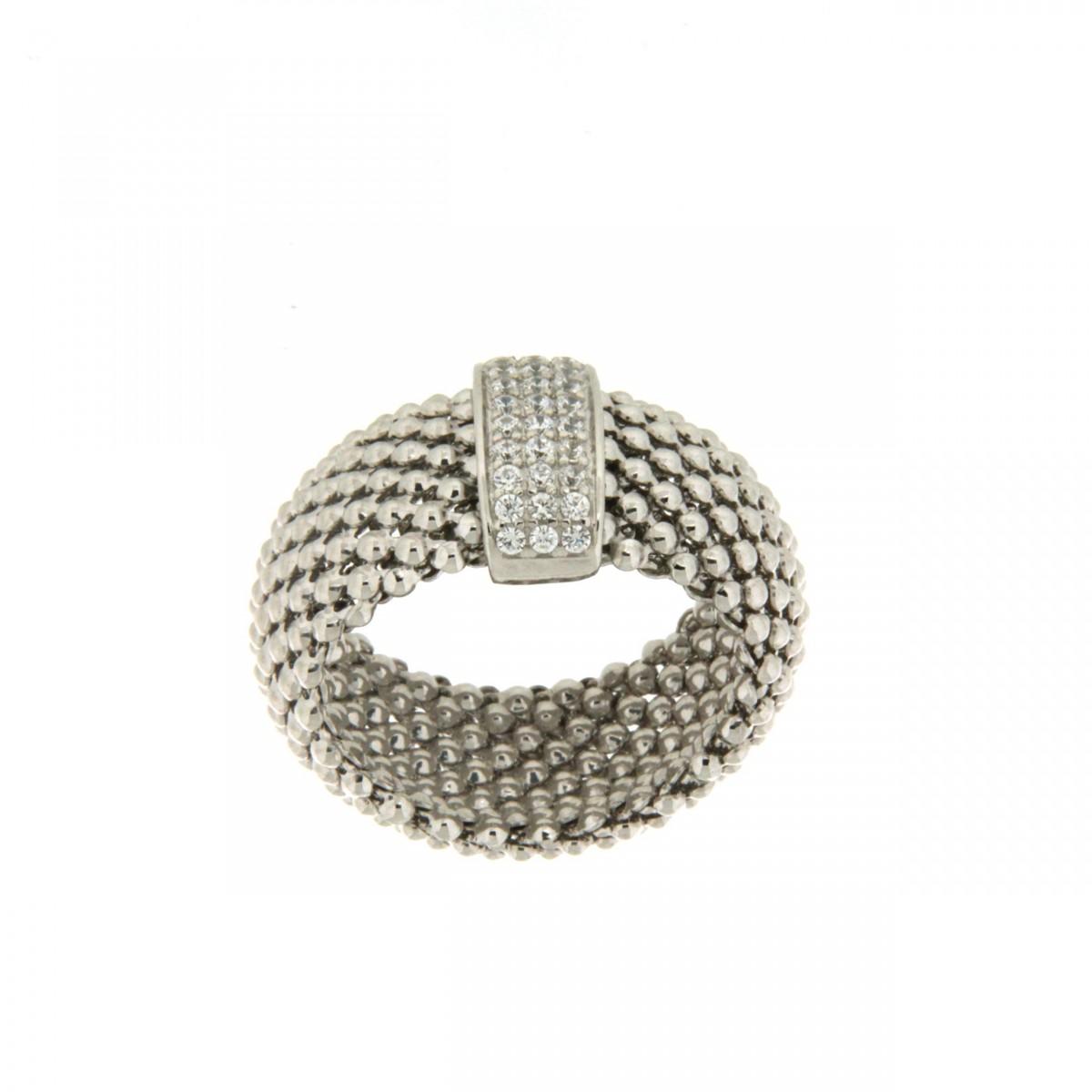 Anello in argento tit. 925m. - A67R