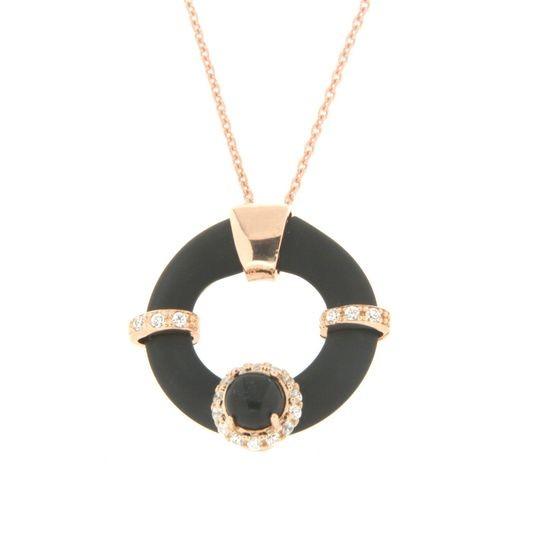 Collana in argento tit. 925m. - K51PN3