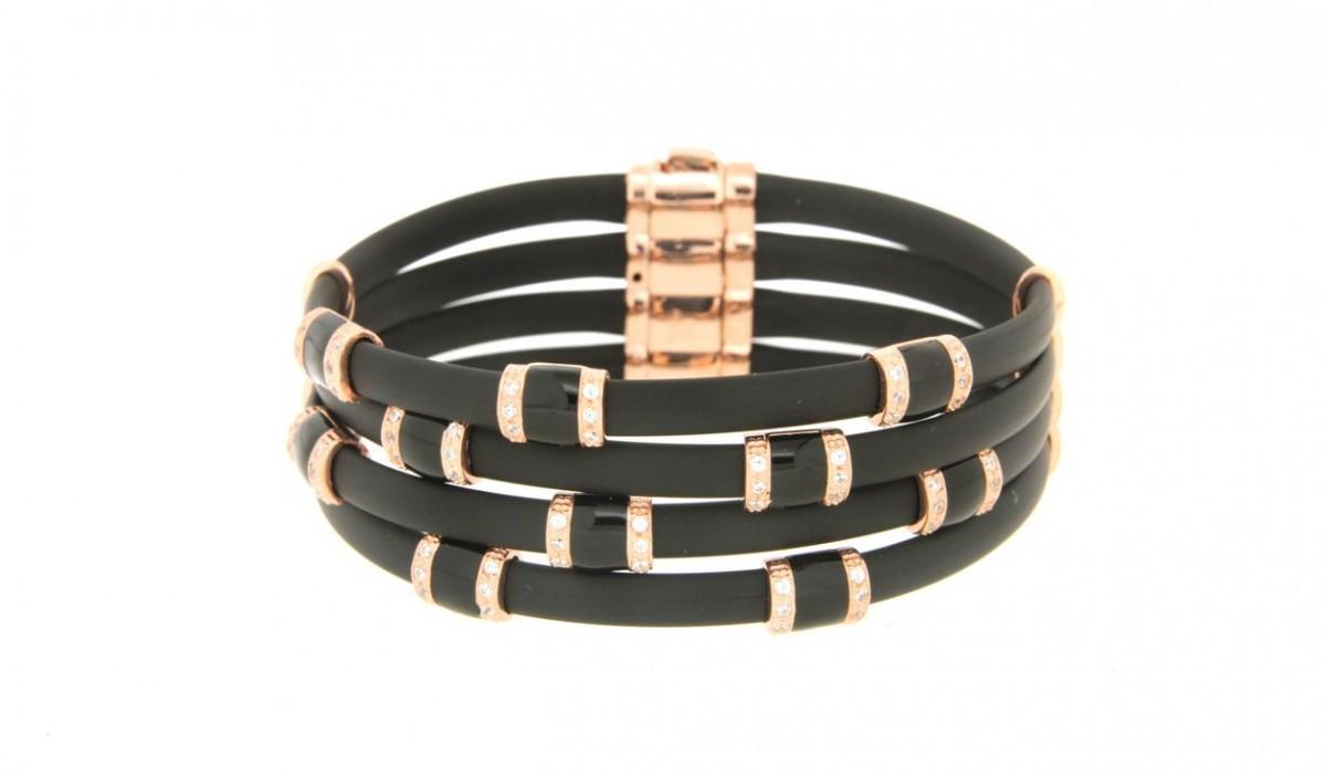 Bracelet in silver tit. 925m. - B61PN3