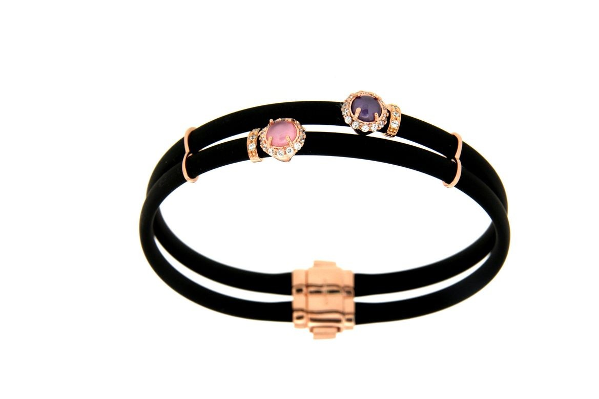 Bracelet in silver tit. 925m. - B11PN16