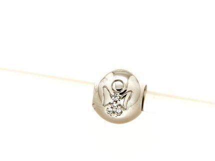Pendant in silver it. 925m.