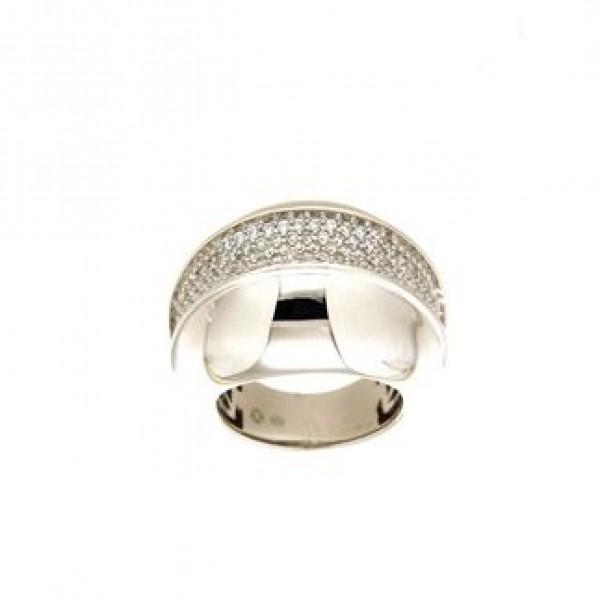 Anello in argento tit. 925m.