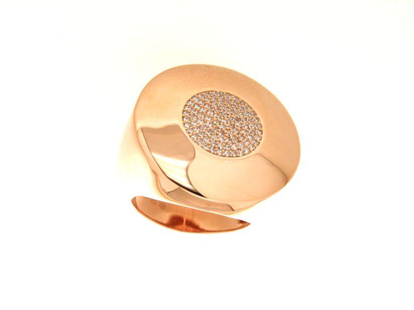 Anello in argento tit. 925m. - A211P20