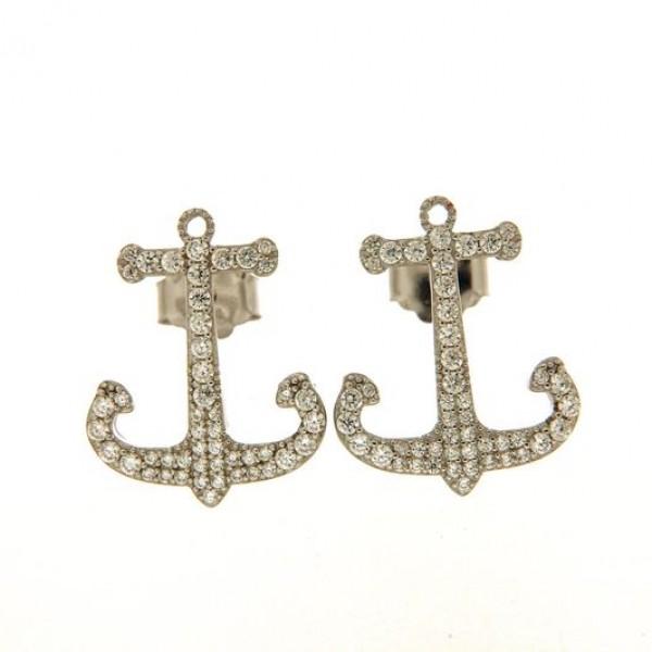 Orecchini in argento tit. 925.
