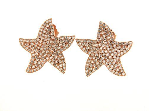 Earrings in silver tit. 925m. - O187P20