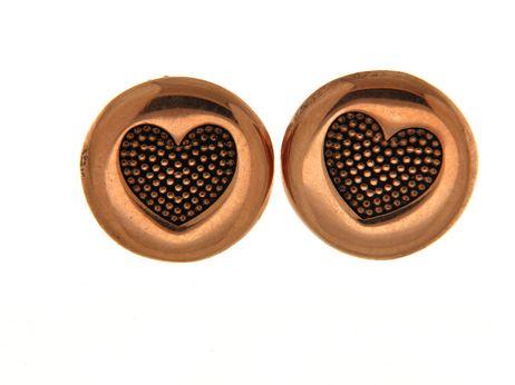 Earrings in silver tit. 925m. - O189P