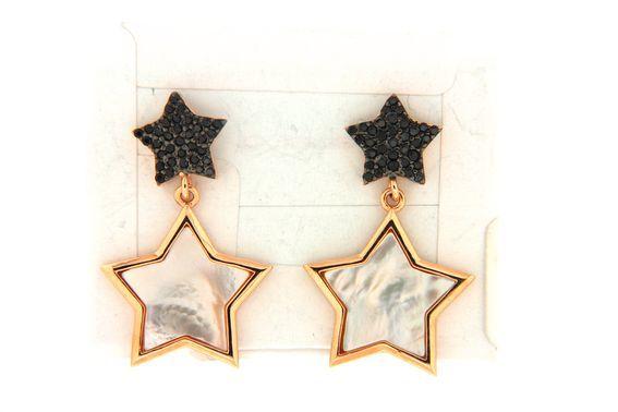 Earrings in silver tit. 925m. - O198P4