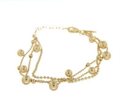 Bracelets in silver tit. 925m. - B125G
