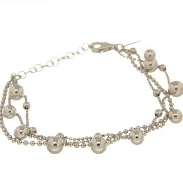 Bracelets in silver tit. 925m.