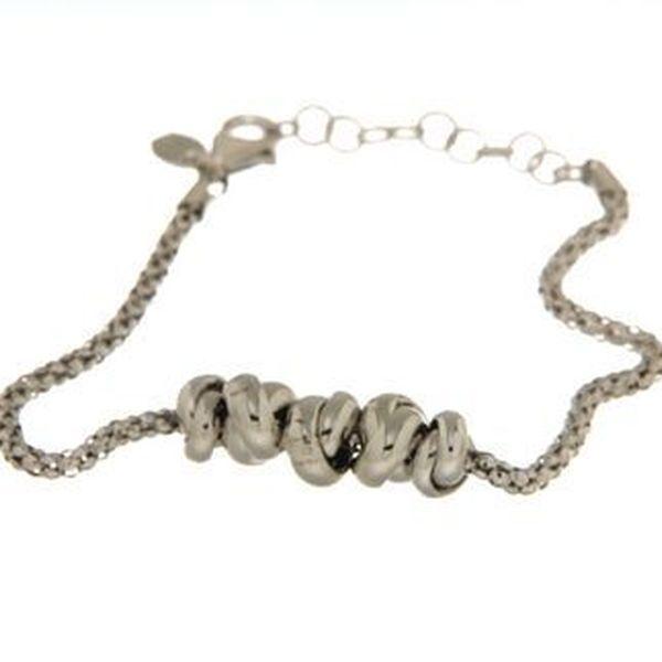 Bracciali in argento tit. 925m.