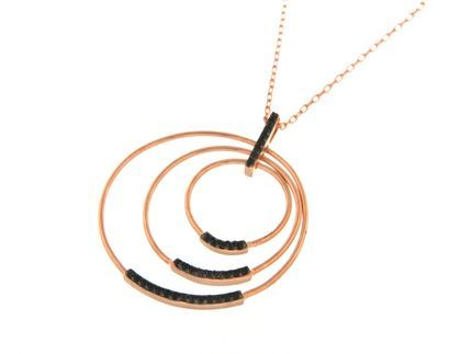 Collana in argento tit. 925m. - K156B