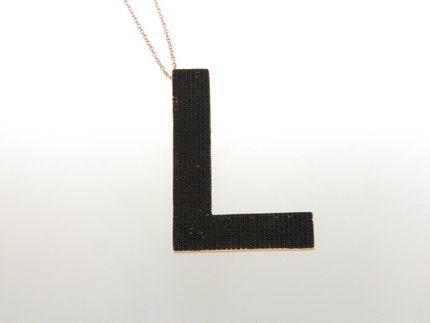 Collana in argento tit. 925m. - K169PB