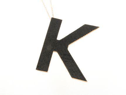Collana in argento tit. 925m. - K168PB