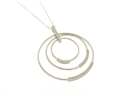 Collana in argento tit. 925m. - K156R