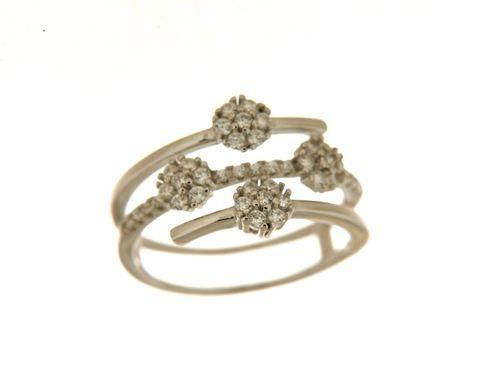 Anello in argento tit. 925m. - A188R