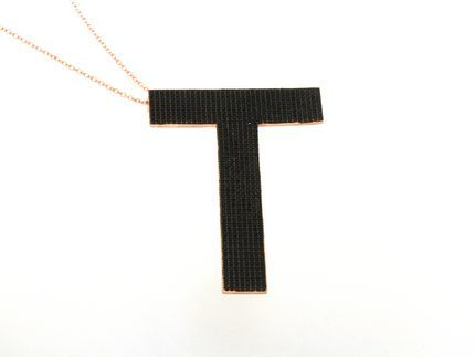 Collana in argento tit. 925m. - K176PB